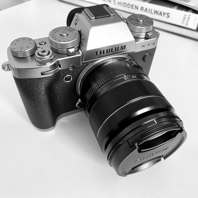 New camera: Fujifilm X-T3