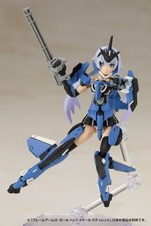 壽屋《Frame Arms Girl 骨裝機娘》HAND SCALE 掌中比例「史蒂蕾特」組裝模型|フレームアームズ・ガール ハンドスケール スティレット