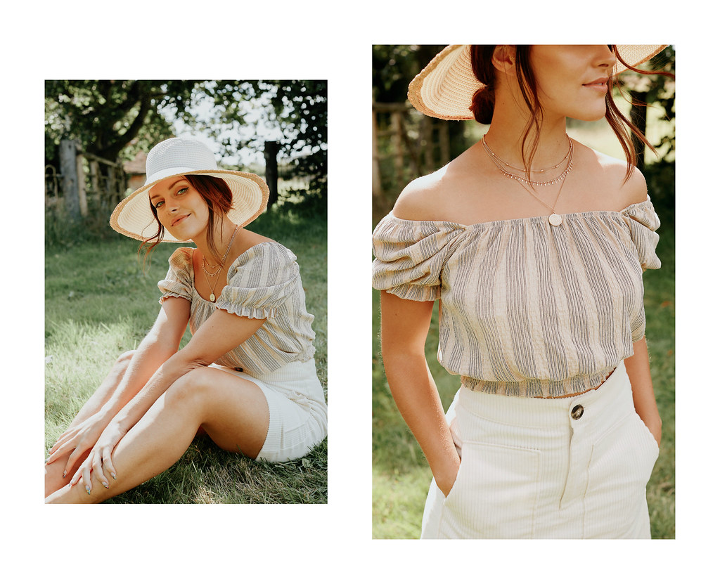 The Little Magpie H&M summer collection campaign