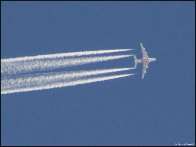 Busy Skies: Emirates Airbus A380-842 A6-EUO DSC08629