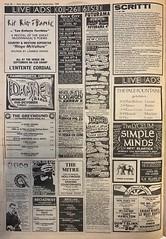 NME, 4 September 1982. #NME  #MyLifeInTheUKMusicPress #1982