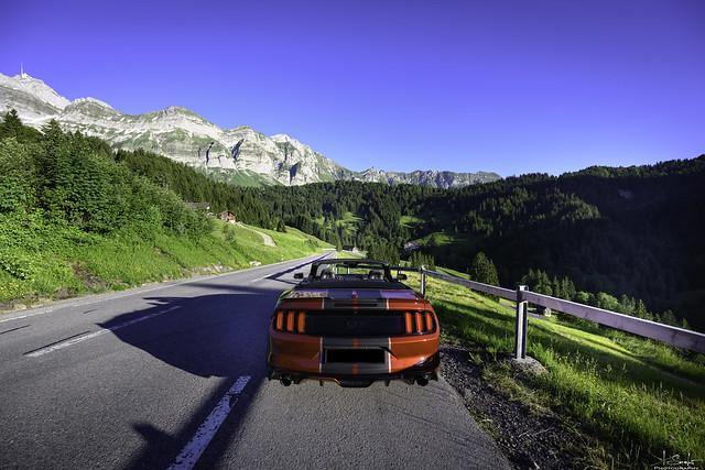 Road to Schwägalp - Appenzell Ausserhoden - Switzerland