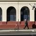 Otago Daily Times Building, Cumberland St. at Stuart St., Dunedin, New Zealand, 1.35 PM Thurs. 18 July 2019