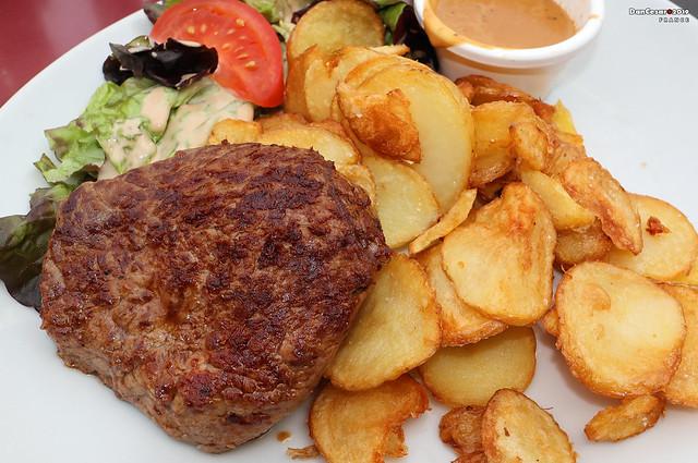 Steak in Paris, France