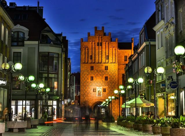 Polska - Poland - Olsztyn - Old Town