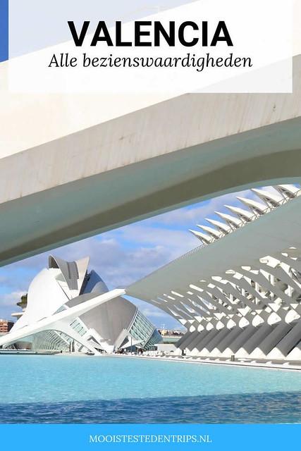 Alle bezienswaardigheden in Valencia, bekijk het complete overzicht | Mooistestedentrips.nl
