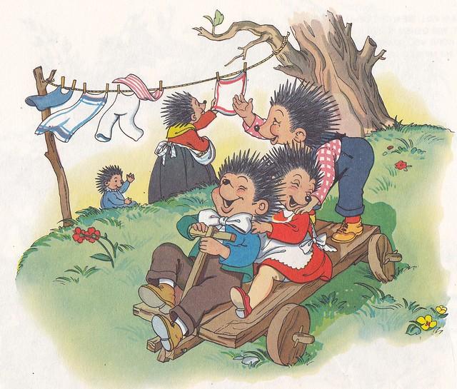 Die lustigen Igelkinder / Seite 9