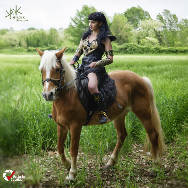 Volta in Cosplay 2019 - Adames as Xena , by SpirosK photo.