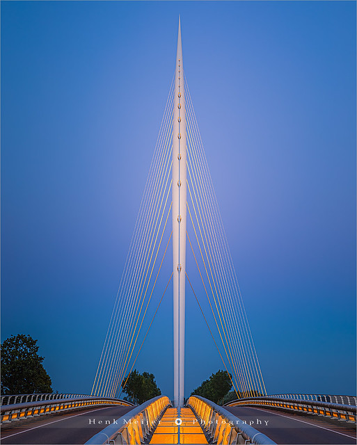 Calatrava, Harp Bridge - Netherlands