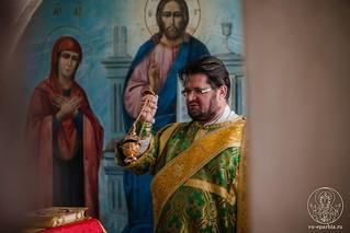 18.07.2019 | Литургия в храме преп.Сергия Радонежского