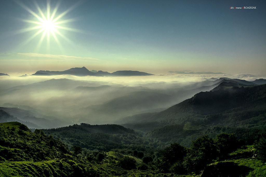 Resplandor al amanecer