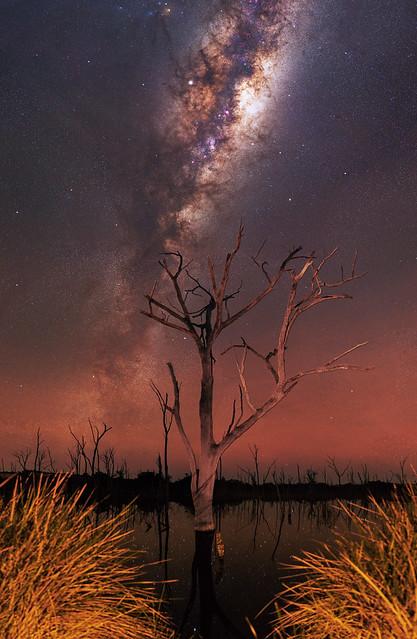 Milky Way at Beverley, Western Australia