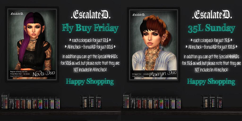 .EscalateD. Weekend Deals - TeleportHub.com Live!