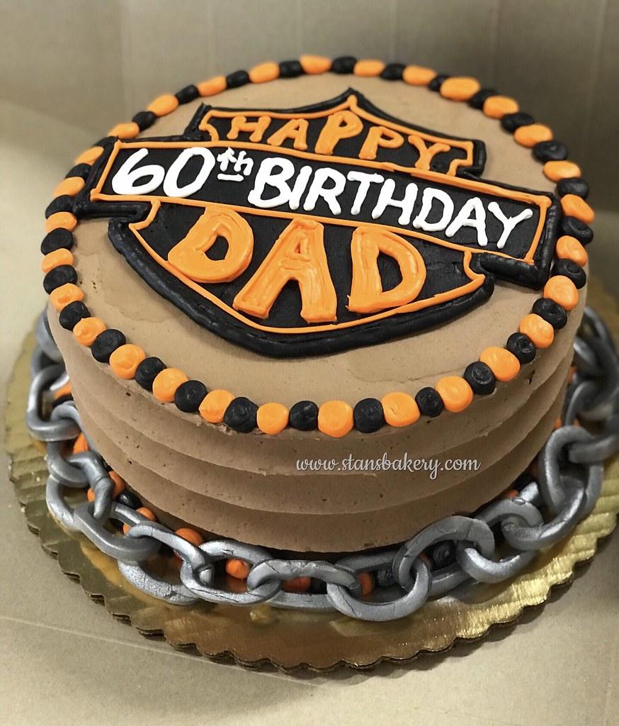 Surprising Harley Davidson Birthday Cake A Photo On Flickriver Funny Birthday Cards Online Fluifree Goldxyz