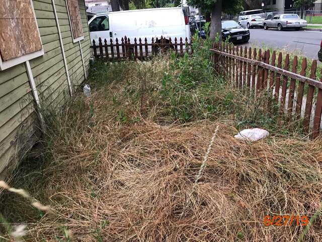 bank owned grass cuts property pasadena ca