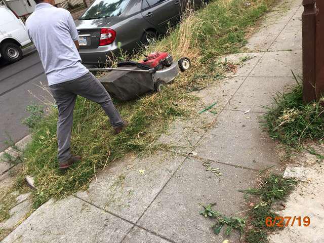 grass cutting bank properties pasadena ca