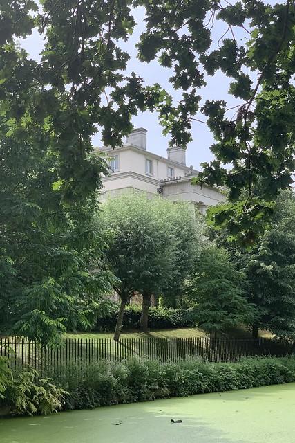 A glimpse at the Doric Villa …