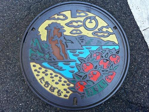 Tachibana Yamaguchi, manhole cover (山口県橘町のマンホール)