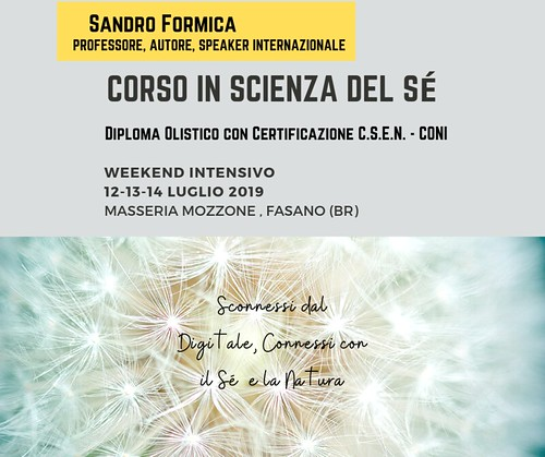 "workshop ""Scienza del sé"""