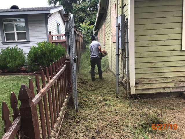 grass cutting bank owned properties pasadena ca