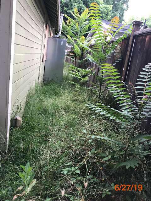 bank owned property grass cuts pasadena ca