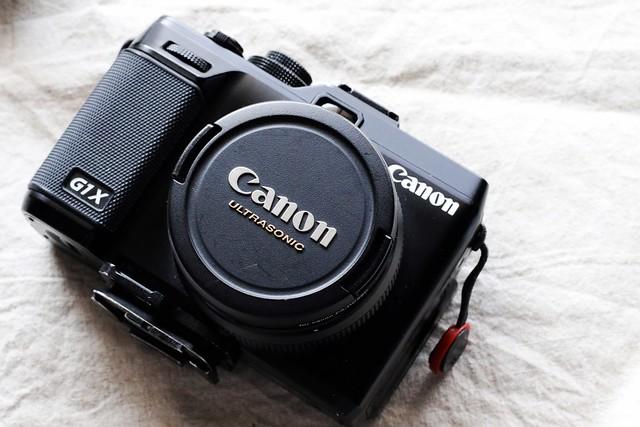 Canon PowerShot G1X.