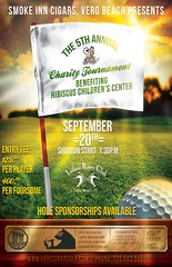 Smoke Inn Cigars, Vero Beach 4th Annual Charity Golf Tournament benefiting Hibiscus Childrens Center
