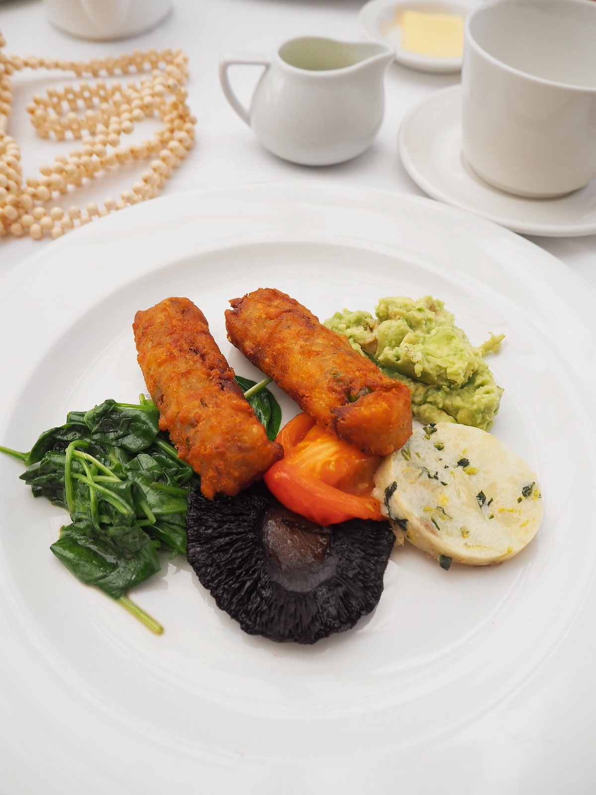 Charlton house hotel and spa vegan options