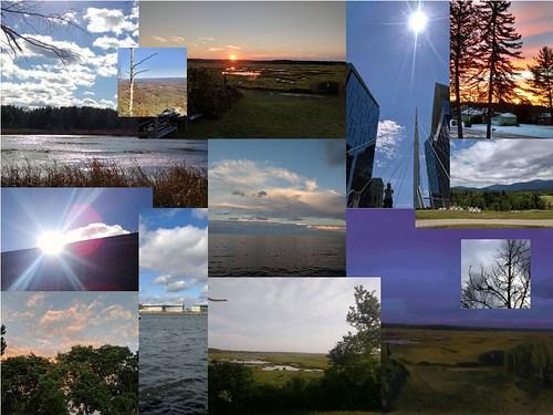 CLMOOC Skyviews Feldgang Collage