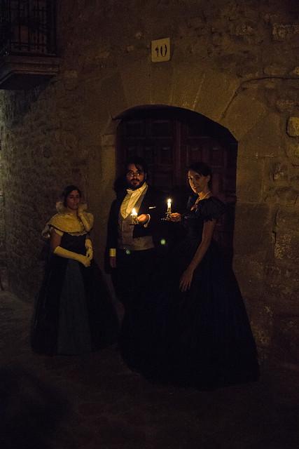 A Victorian gothic tale. American Civil War gown. Recreación victoriana. SOS DEL REY CATÓLICO. JUNIO 2019.