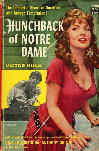 Avon Books T-190 - Victor Hugo - Hunchback of Notre Dame