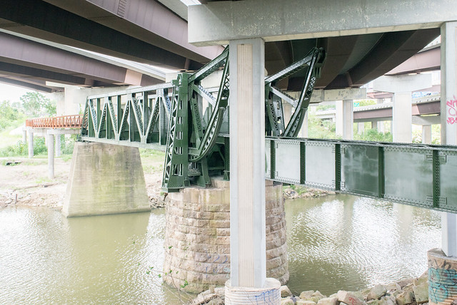 HB&T Strauss Bascule Railroad Bridge over Buffalo Bayou 1907171028