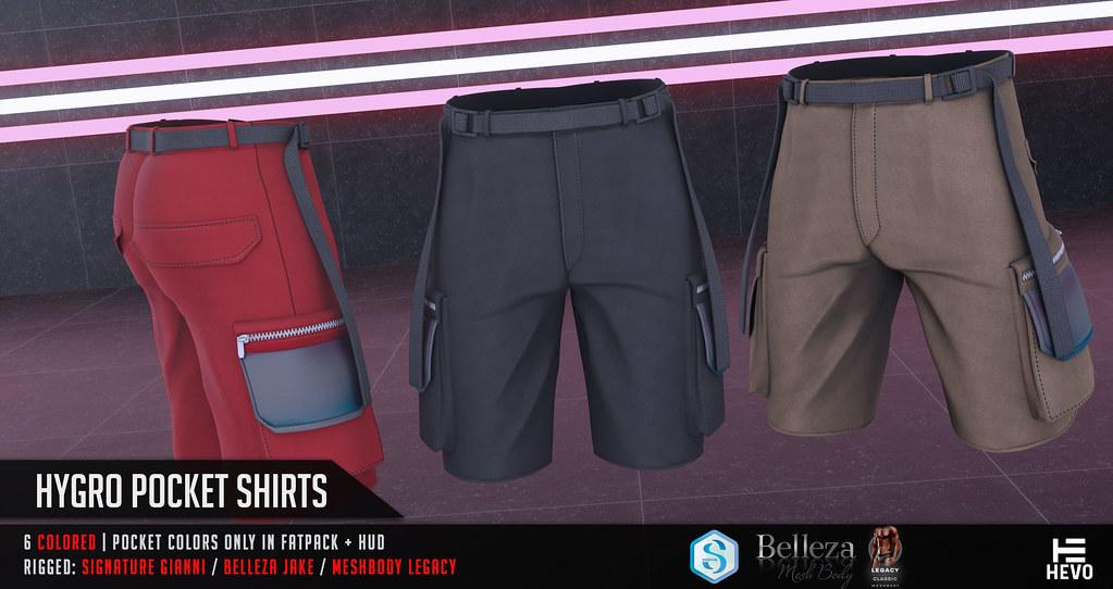 HEVO – Hygro Pocket Shorts