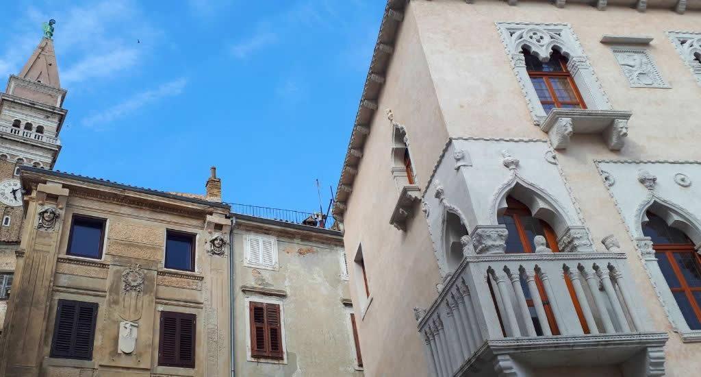 Piran, Slovenië: Venetiaans Huis | Mooistestedentrips.nl