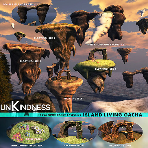 uK – Living Island Gacha – Epiphany