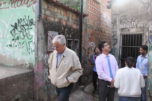 Visita técnica para solicitar obras de asfaltamento da Rua Macedo, Bairro Serra Verde - Comissão de Desenvolvimento Econômico, Transporte e Sistema Viário