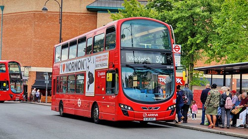 Arriva London DW445 - Route 301