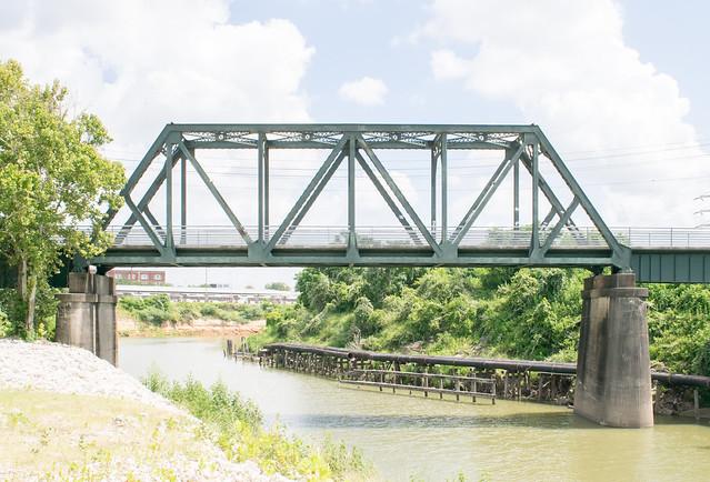 GH&H Railroad Bridge over Buffalo Bayou 1907171302