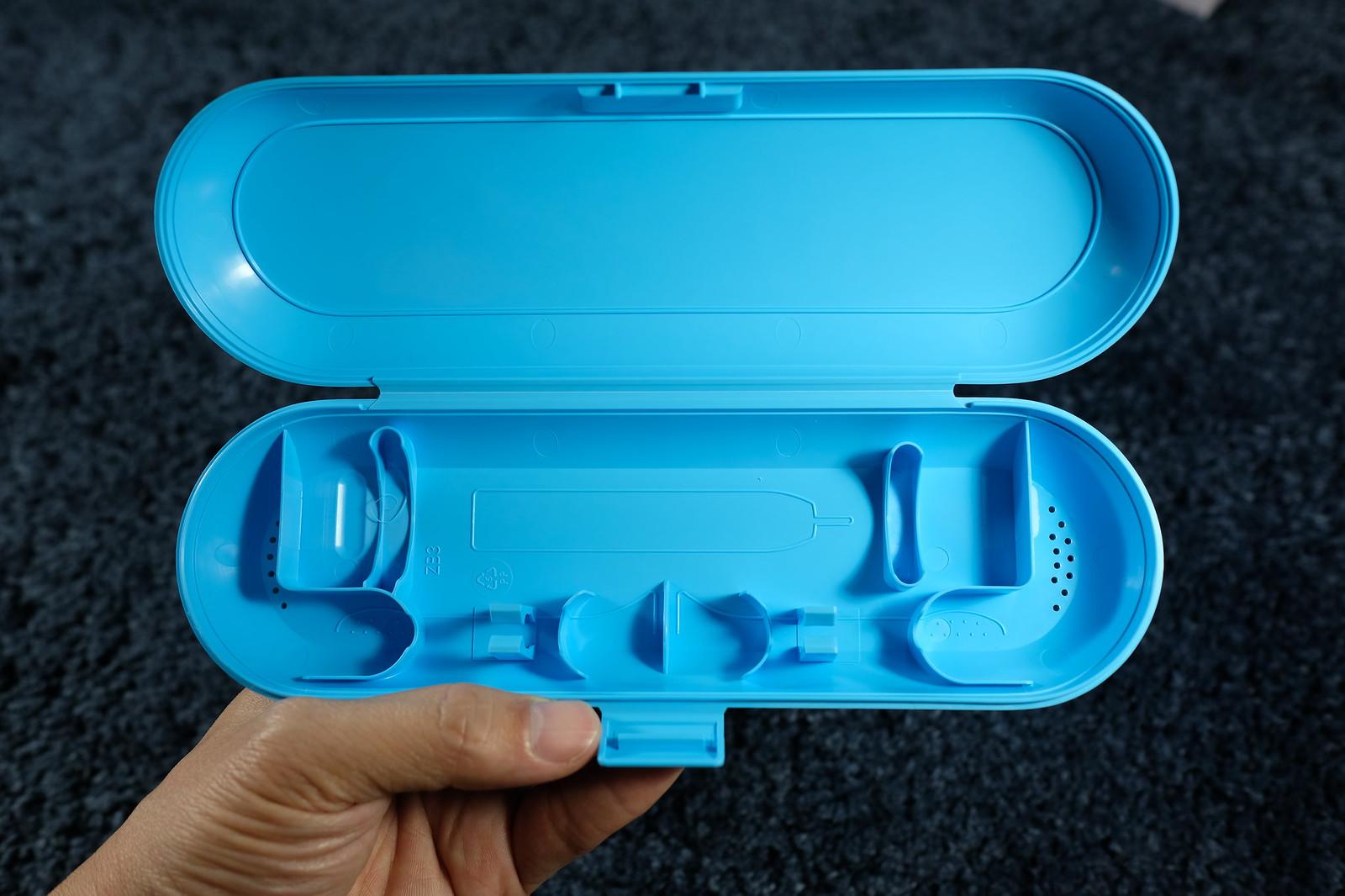 PHILIPS飛利浦 Sonicare 音波震動牙刷旅行盒內觀