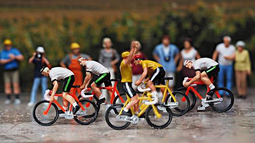 Geisterfahrer bei der Tour de France !!