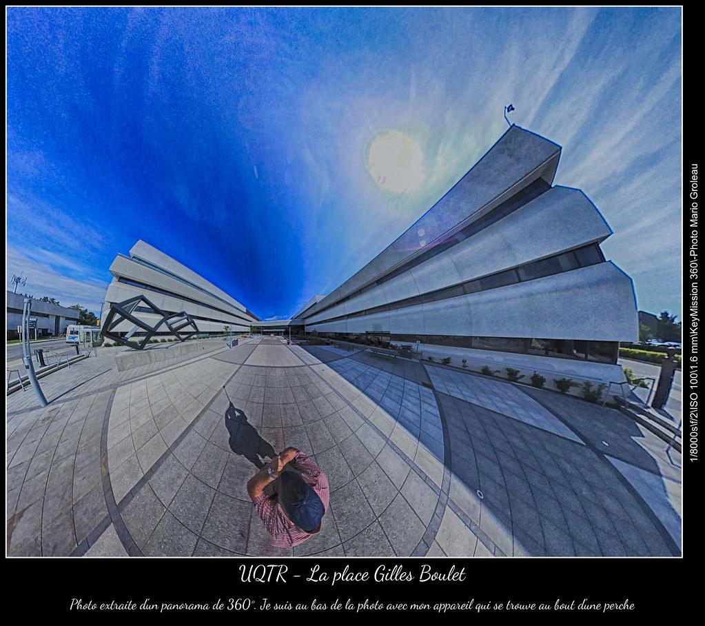 UQTR - La place Gilles Boulet