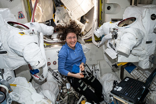 Expedition 60 Flight Engineer Christina Koch of NASA | by NASA Johnson