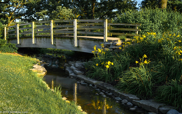 Bridge Over Cantigny Waters