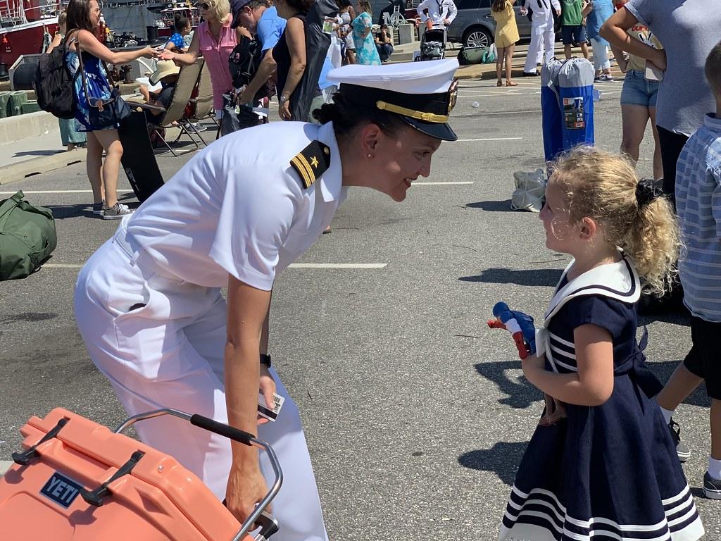 USS Arlington_USS Kearsarge Homecoming July 2019
