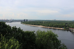 View over the Dnipro river, Kyiv