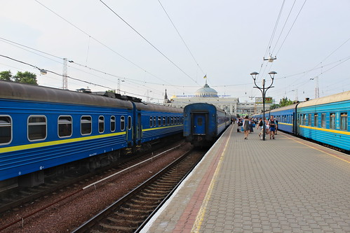 Trains to Kyiv and Kharkiv at Odessa Holovny train station | by Timon91