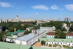 View from the Lavra Bell Tower, Kyiv