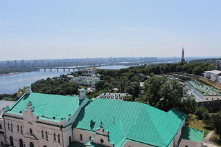 View from the Lavra Bell Tower, Kyiv | by Timon91