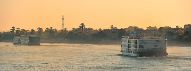 Cruises on the Nile, Egypt.