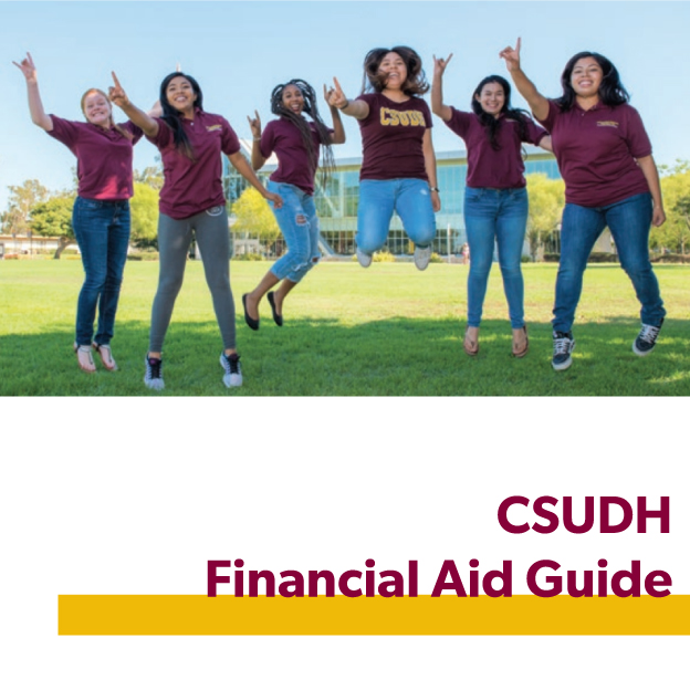 picture link to csudh.edu/financial-aid